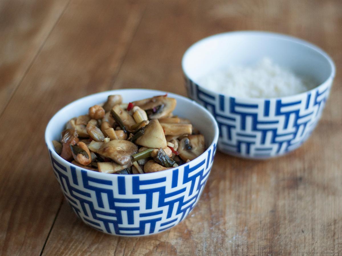 Gong Bao Healthy Recipe