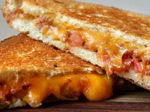 Gourmet Grilled Cheese Healthy Recipe
