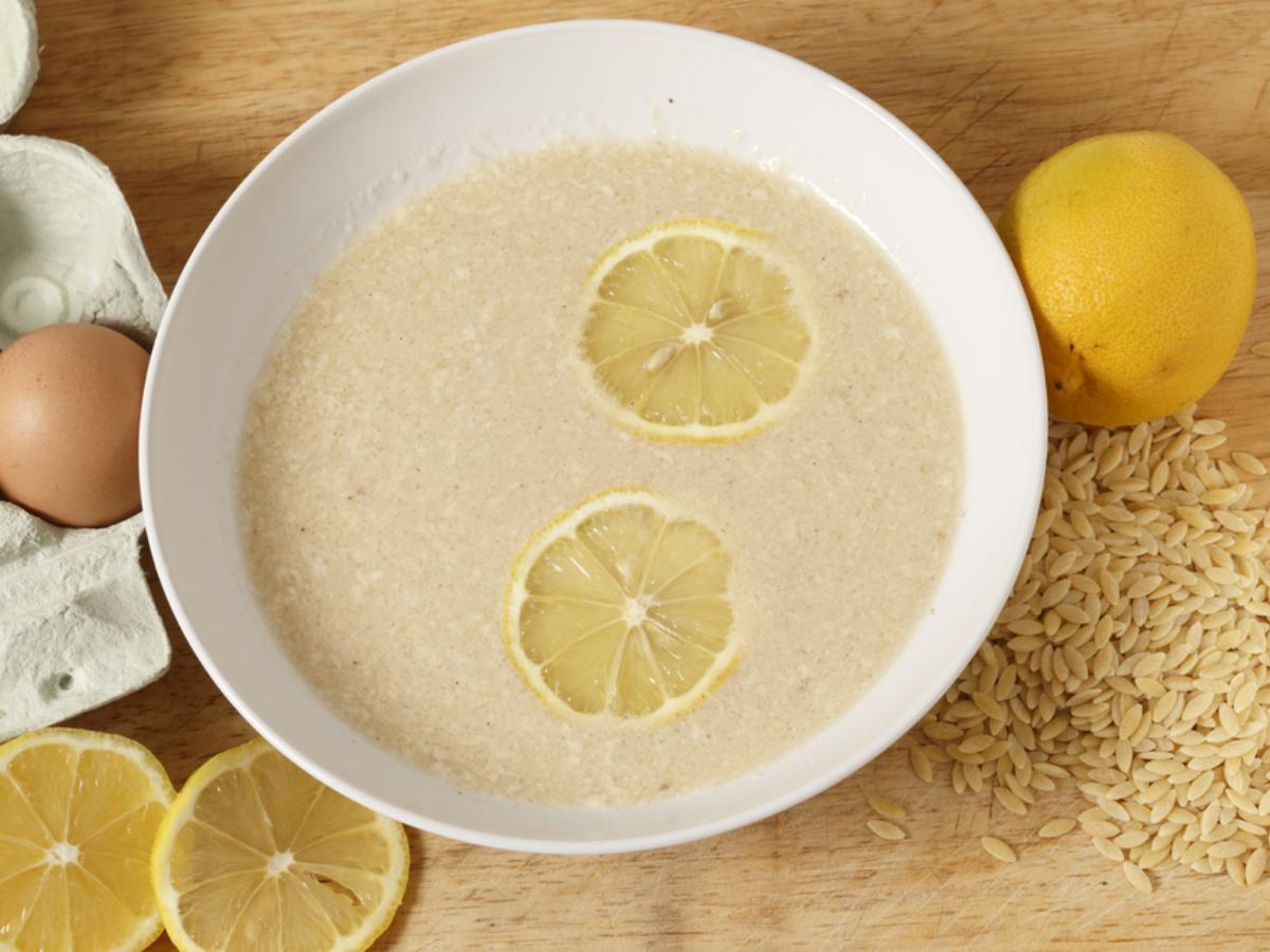 Greek Chicken Soup Healthy Recipe