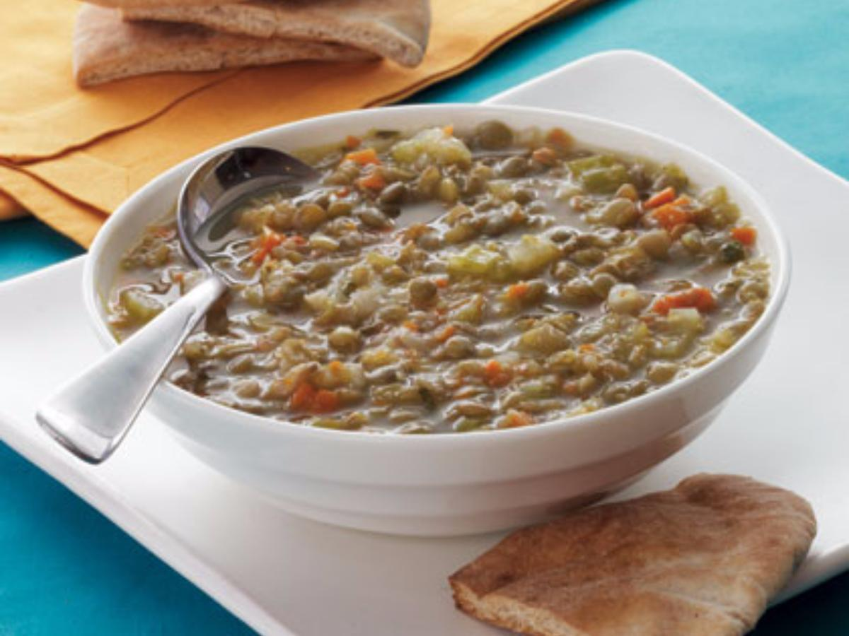 Greek Lentil Soup Healthy Recipe