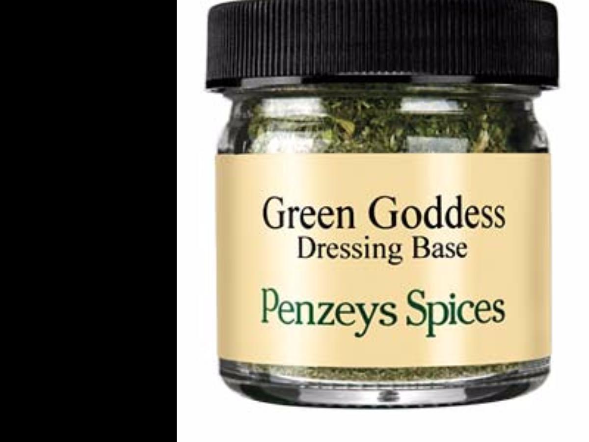 Green Goddess Yogurt Salad Dressing Healthy Recipe