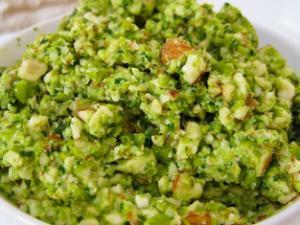 Green Pea Pesto Healthy Recipe