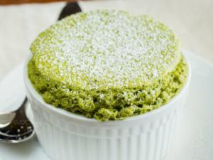Green Tea Soufflé Healthy Recipe