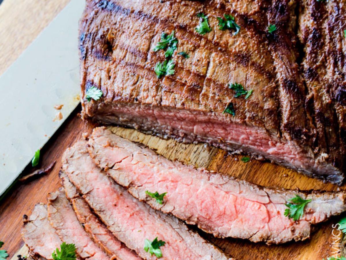 Grilled Carne Asada Healthy Recipe