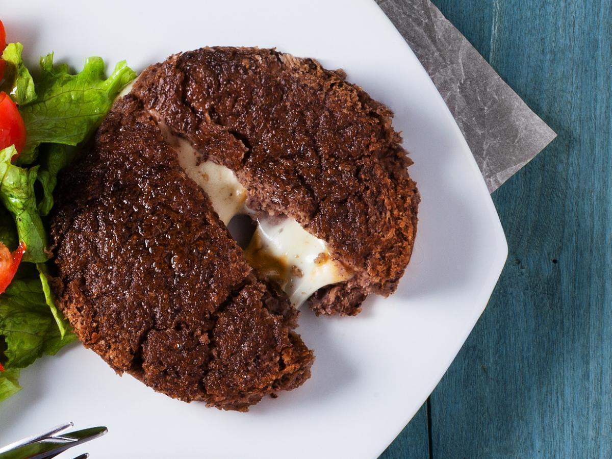 Grilled Cheddar-Stuffed Hamburgers Healthy Recipe