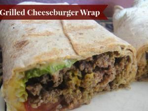 Grilled Cheese Turkey Burger Wraps Healthy Recipe
