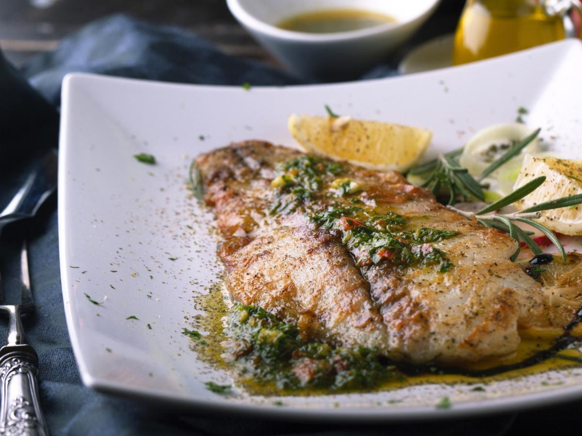 Grilled Halibut with Chimichurri Healthy Recipe