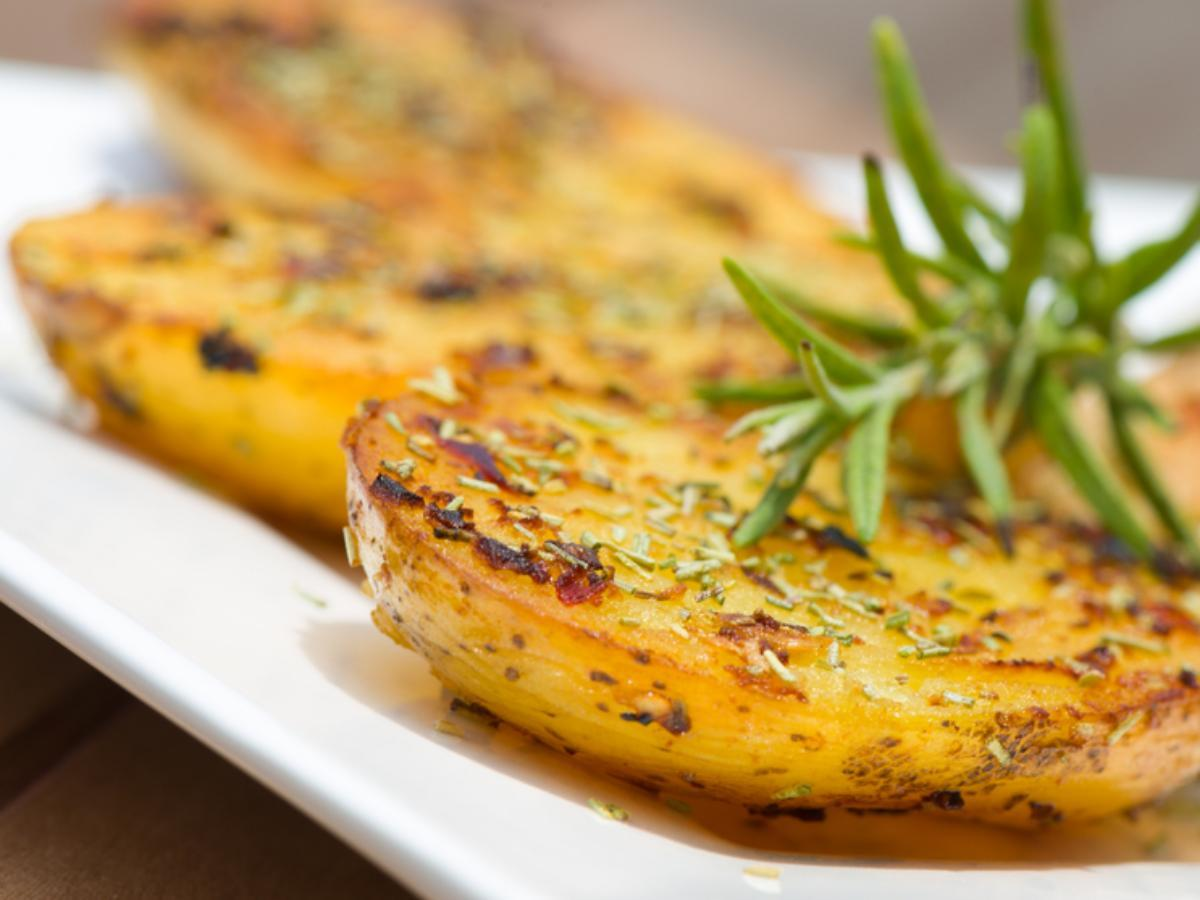 Grilled Herb Potatoes Healthy Recipe