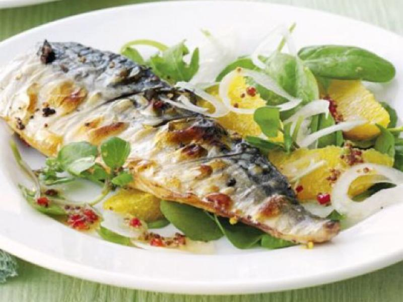Grilled Mackerel Healthy Recipe