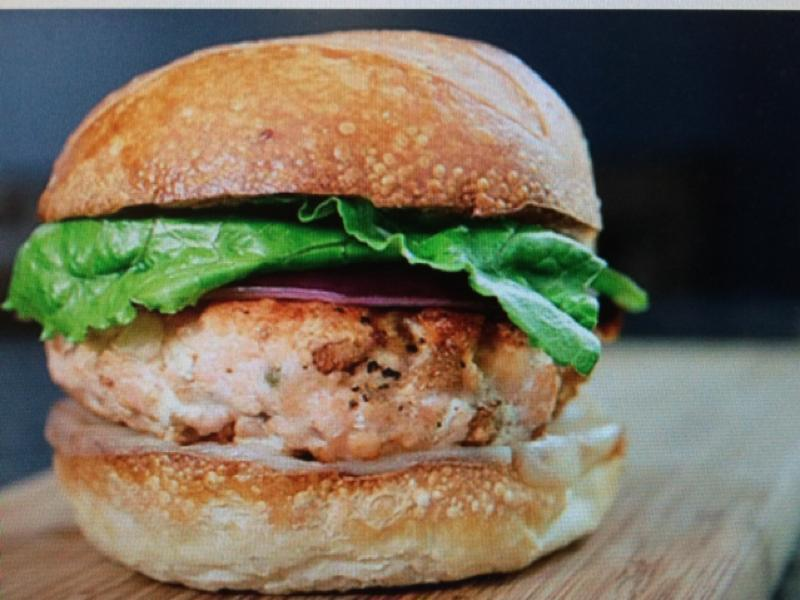 Grilled Salmon Burger Patties Healthy Recipe