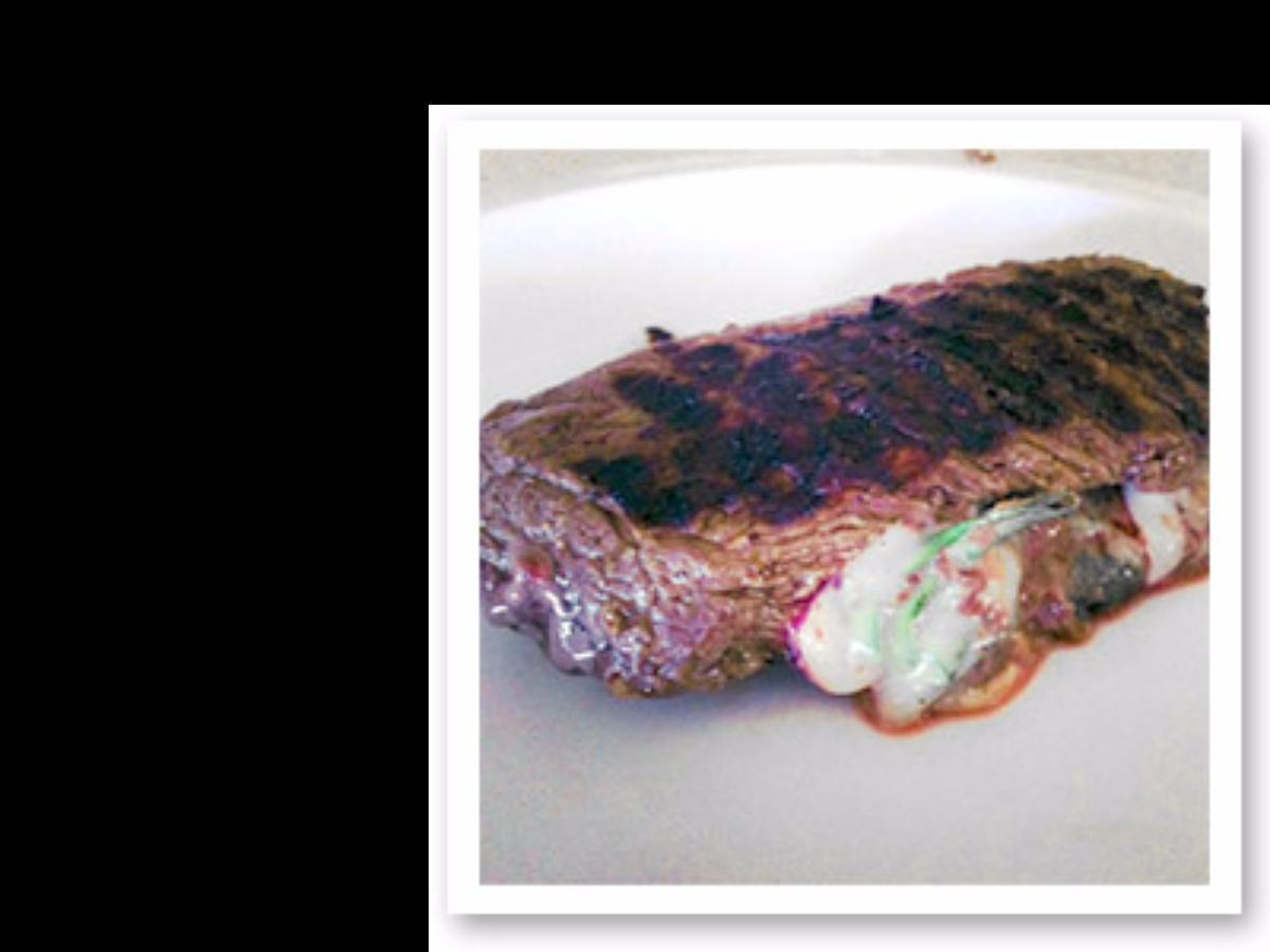 Grilled Stuffed Bison Healthy Recipe