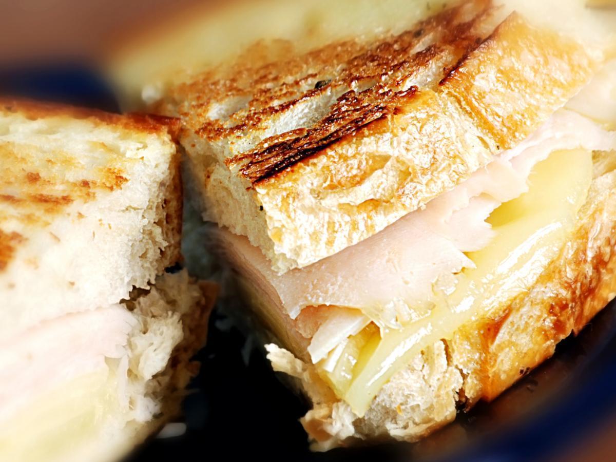 Grilled turkey sandwich Healthy Recipe