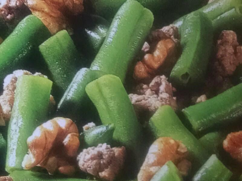 Ground Turkey, Bean & Walnut Stir-Fry Healthy Recipe