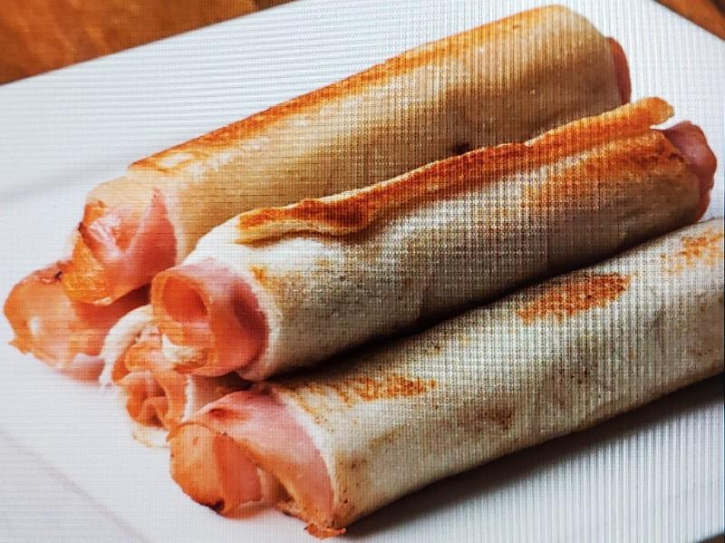 Ham and Cheese Dunker with Boiled Eggs Healthy Recipe