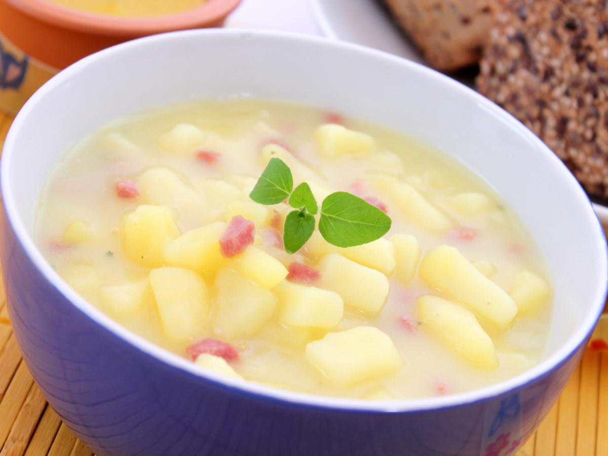 Ham and Potato Soup Healthy Recipe
