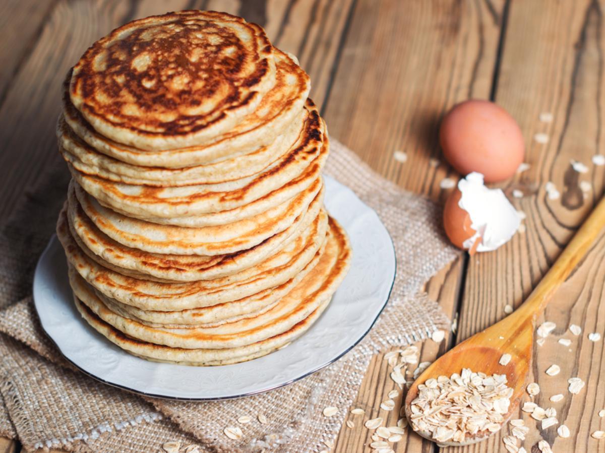 Healthy Banana Oat Pancakes Healthy Recipe