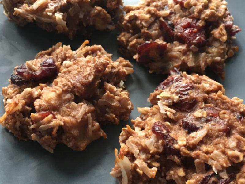 Healthy Banana Protein Cookies Healthy Recipe