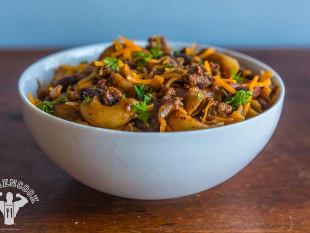 Hearty Quinoa Mac and Chili Healthy Recipe