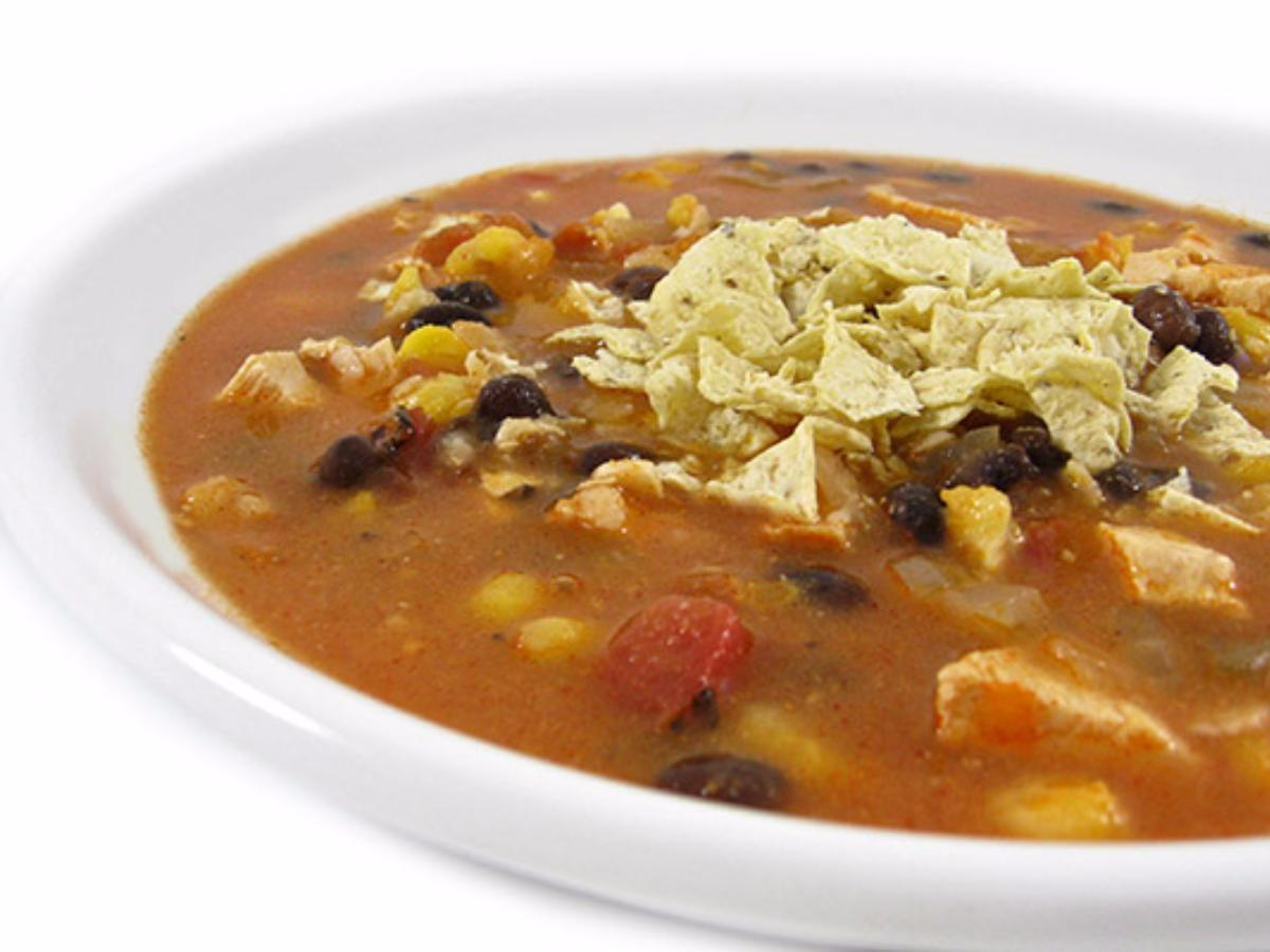 Heavenly Chicken Tortilla Soup Healthy Recipe
