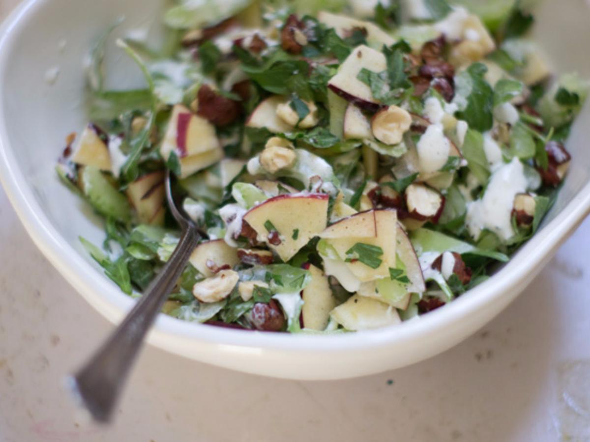 Heirloom Apple Salad Healthy Recipe