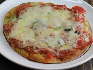 High Protein Pita Pizza Healthy Recipe