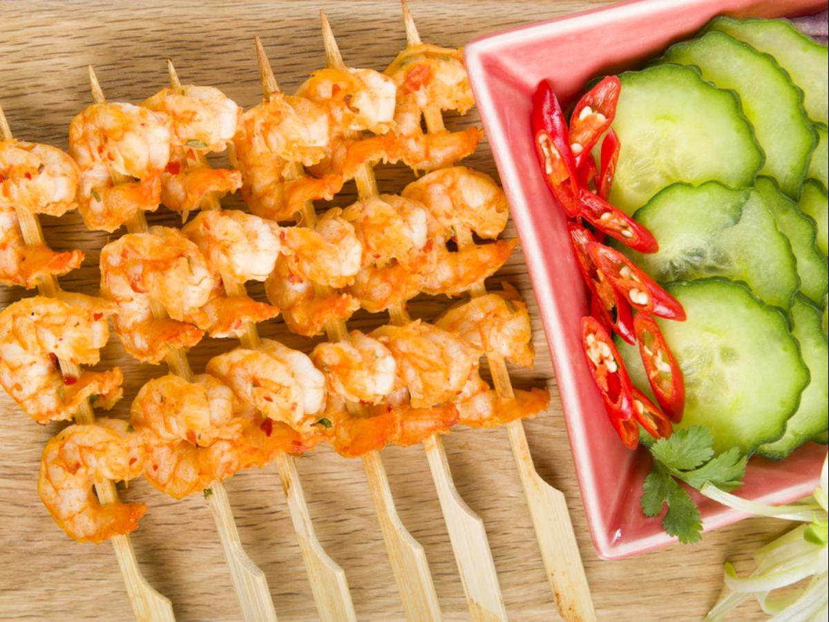 Hoisin-Glazed Shrimp Skewers Healthy Recipe