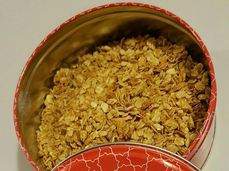 Honey and Oat Granola Healthy Recipe