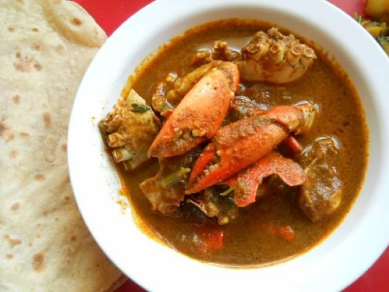 Indian Crab Curry Healthy Recipe