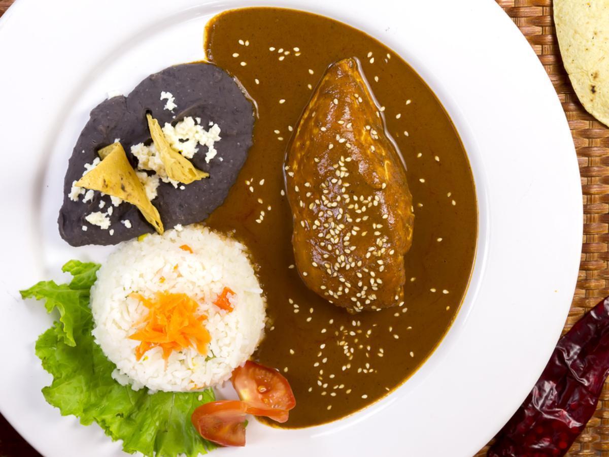 Instant Chicken Mole Poblano Healthy Recipe
