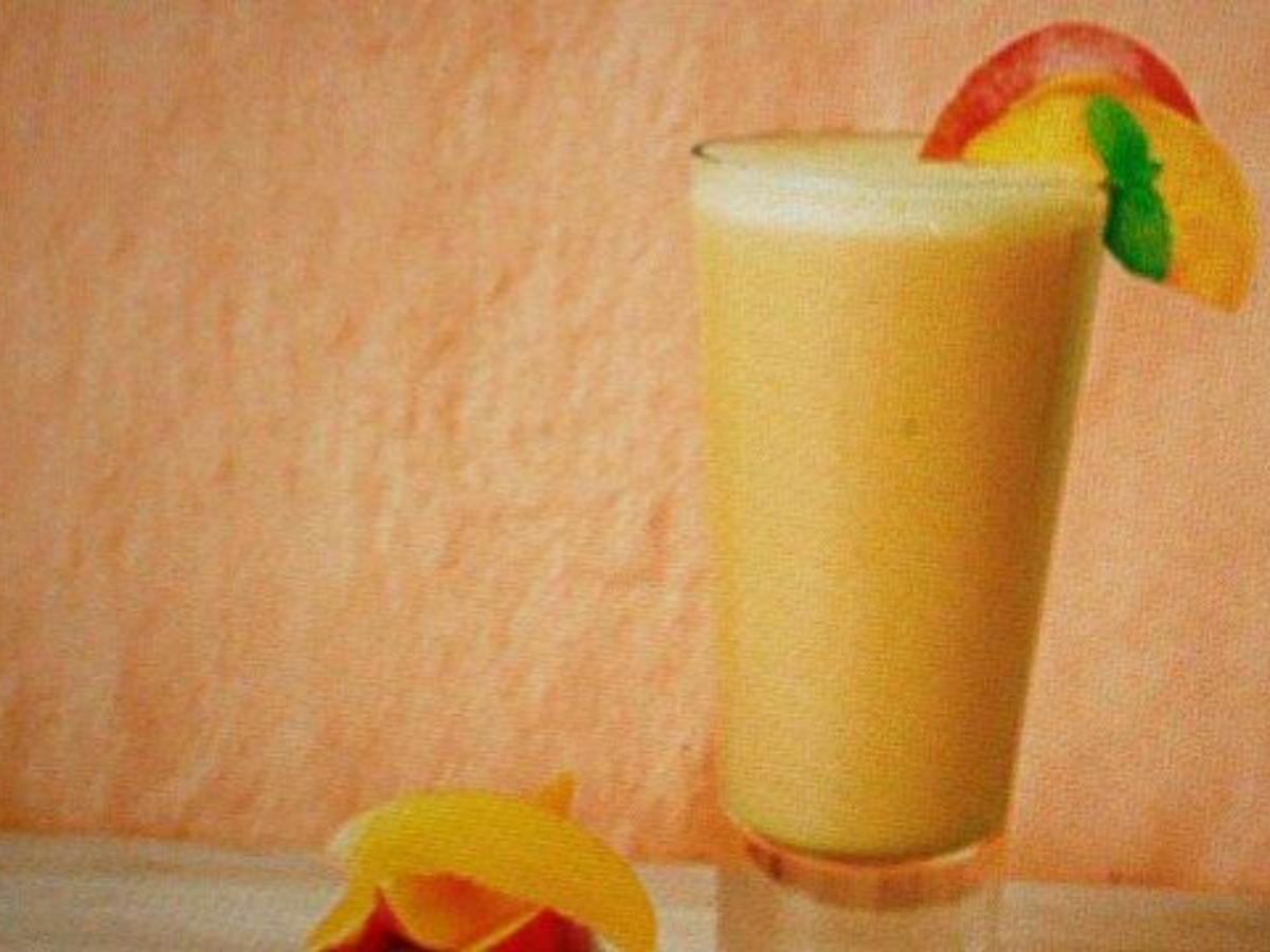 Island in the Sun Smoothie Healthy Recipe