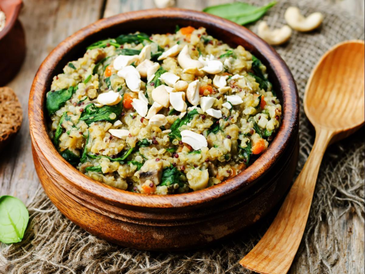 Italian Quinoa & Lentils Healthy Recipe