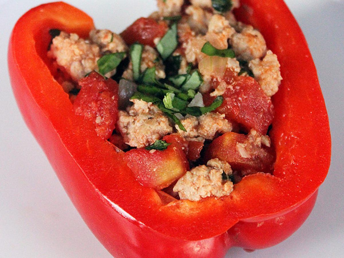 Italian Style Stuffed Peppers Healthy Recipe
