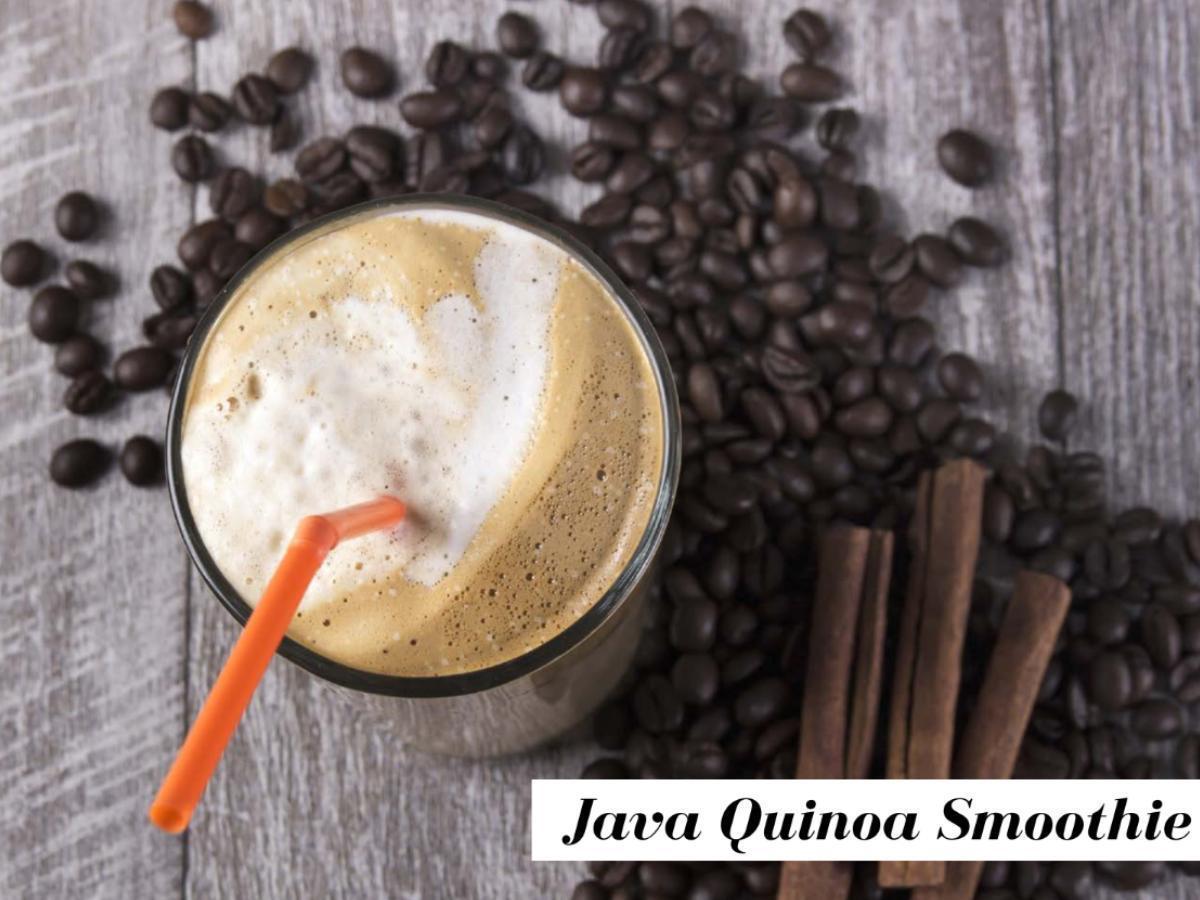 Java Banana Quinoa Smoothie Healthy Recipe