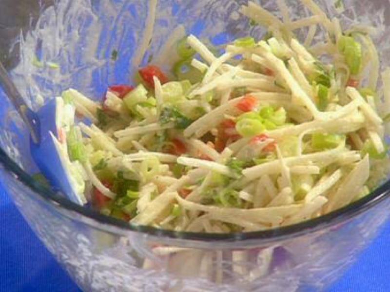 Jicama Slaw Healthy Recipe