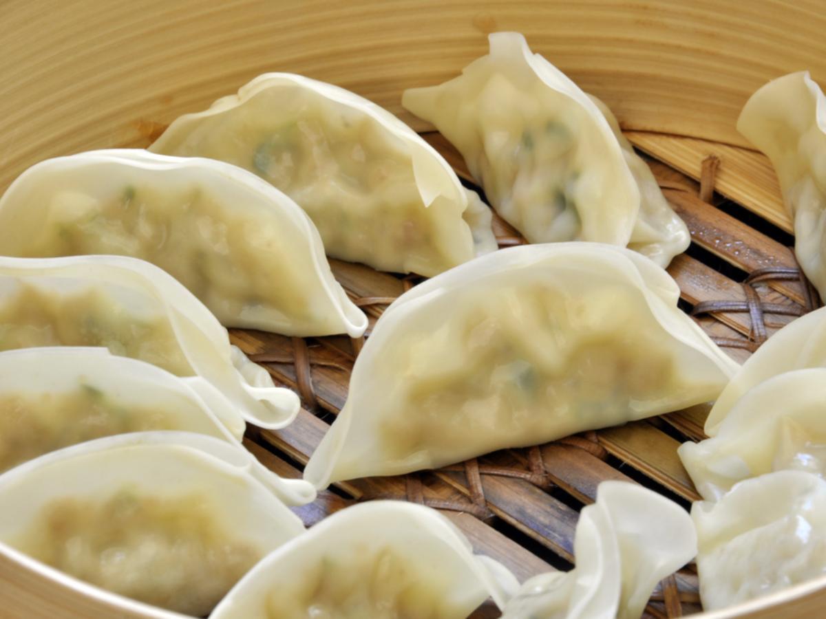 Kale Edamame Dumplings Healthy Recipe