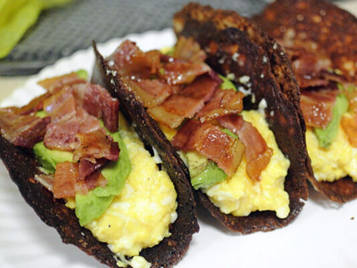 Keto Breakfast Tacos Healthy Recipe