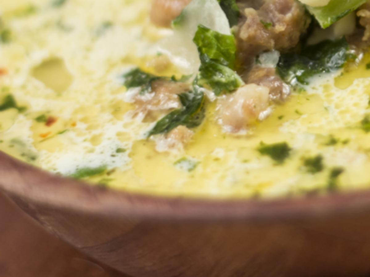 Keto Italian Sausage Soup Healthy Recipe