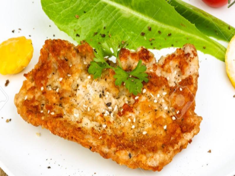 Keto Pork Schnitzel Healthy Recipe