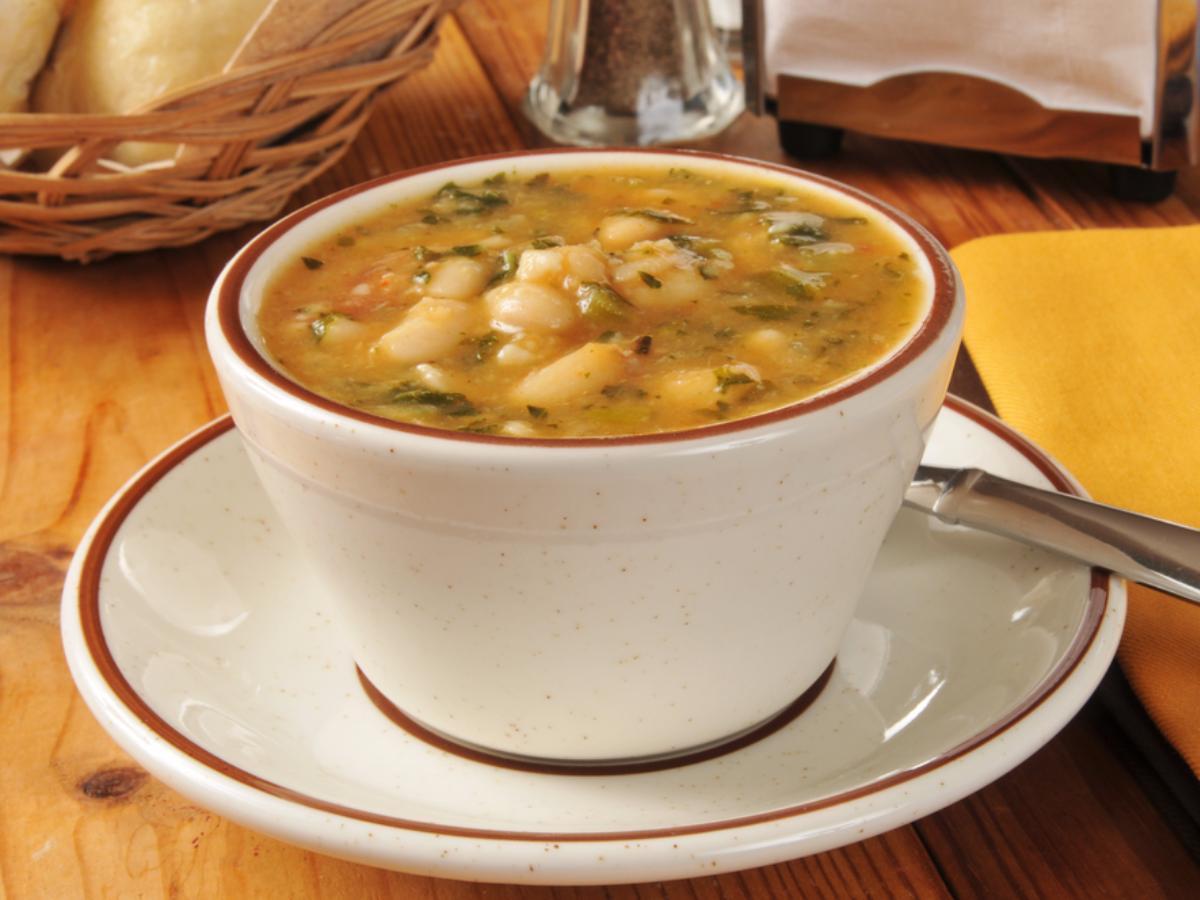 Lemon, Kale, and Bean Stew Healthy Recipe