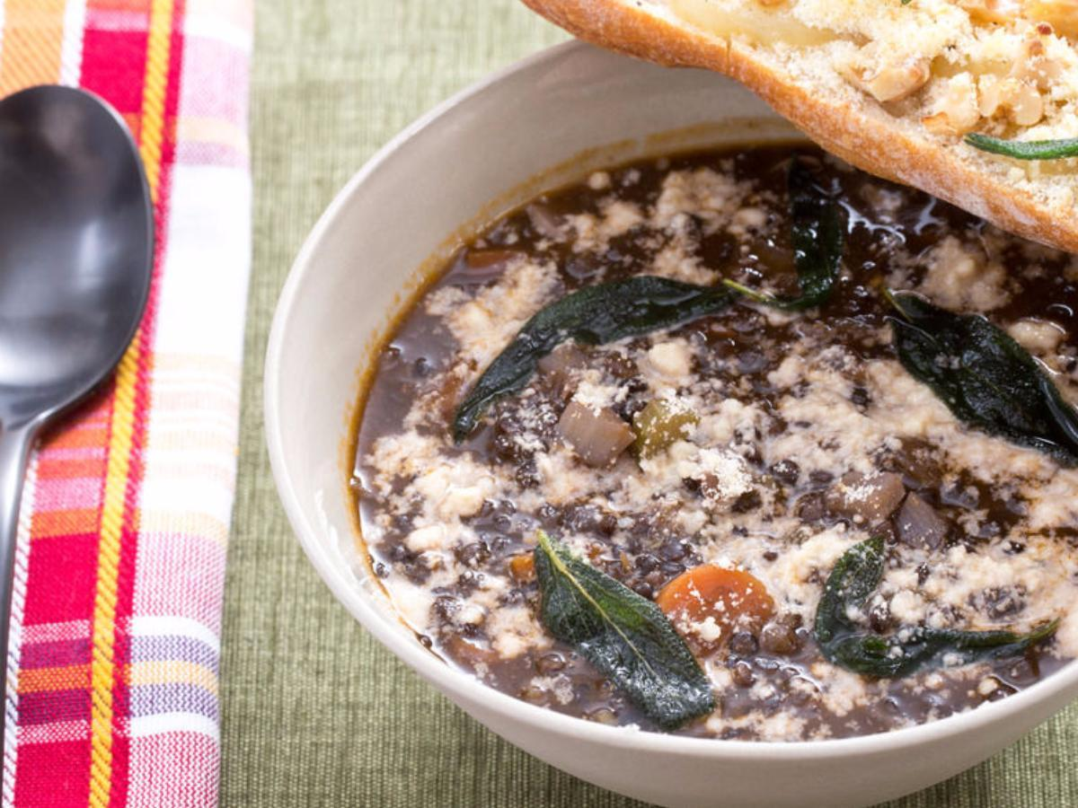 Lentil Minestra Healthy Recipe