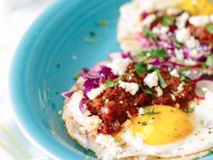 Loaded Huevos Rancheros Tacos Healthy Recipe