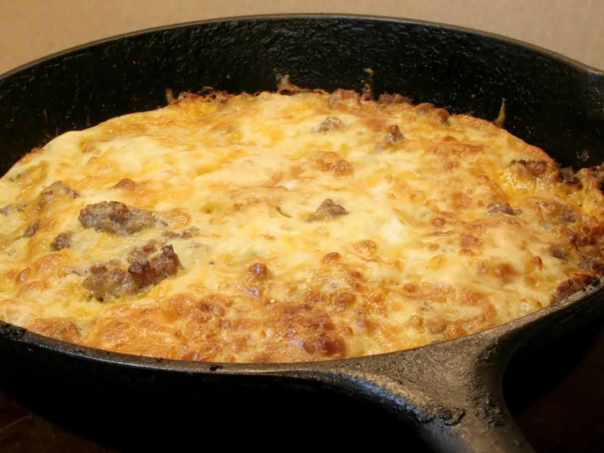 Low Carb Bacon Cheeseburger Casserole Healthy Recipe