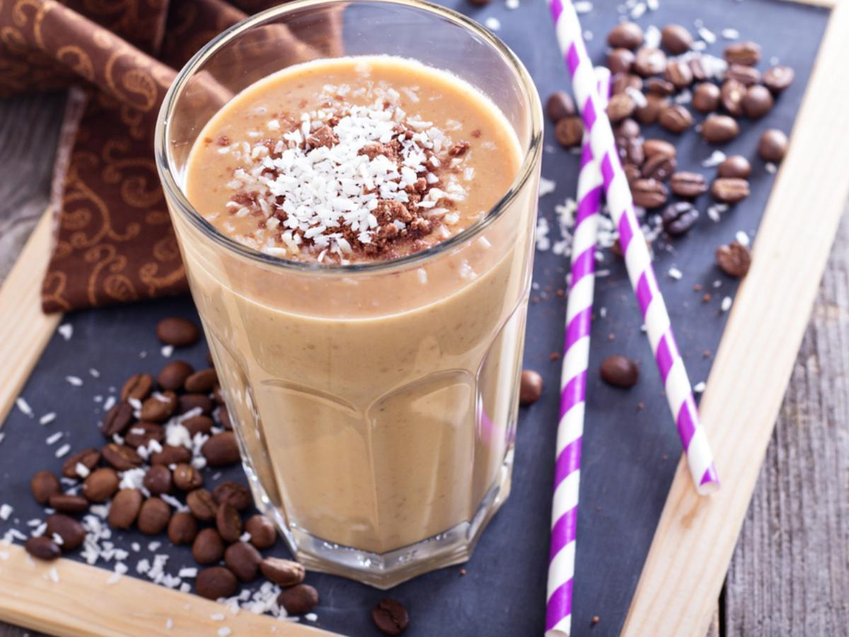 Low-Carb Coffee Protein Shake Healthy Recipe