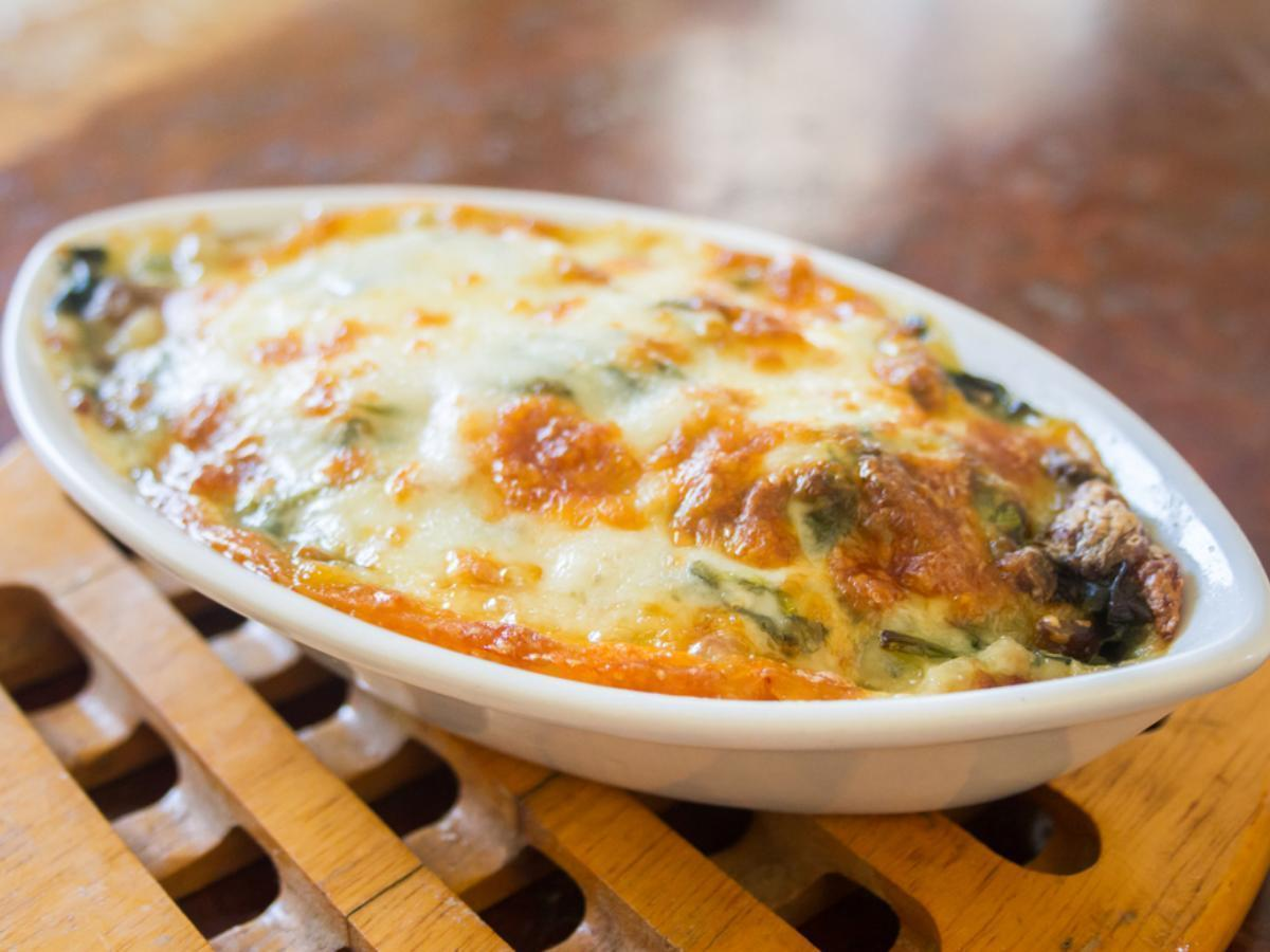 Low Carb Hamburger Broccoli Alfredo Healthy Recipe