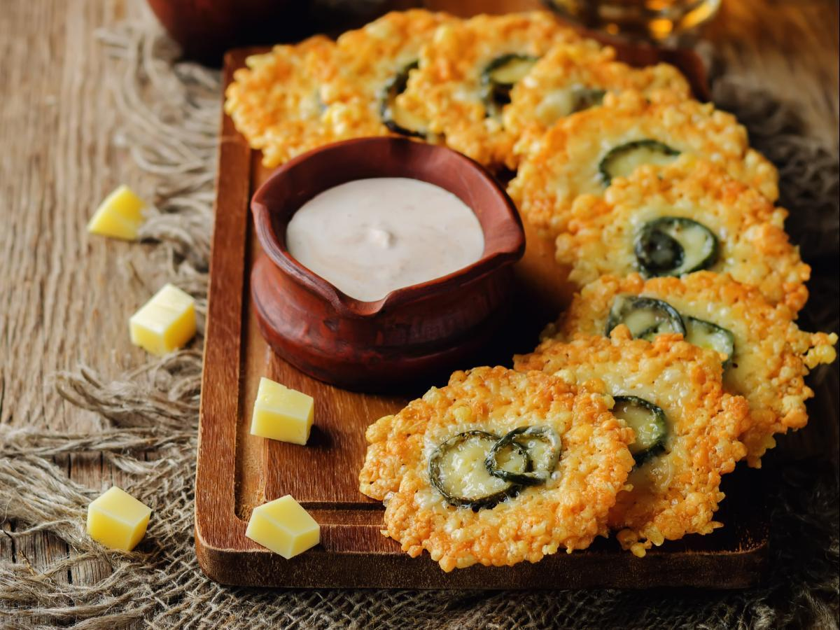 Low Carb Jalapeno Cheese Crisps Healthy Recipe
