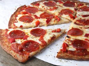 Low Carb Pepperoni Pizza Healthy Recipe