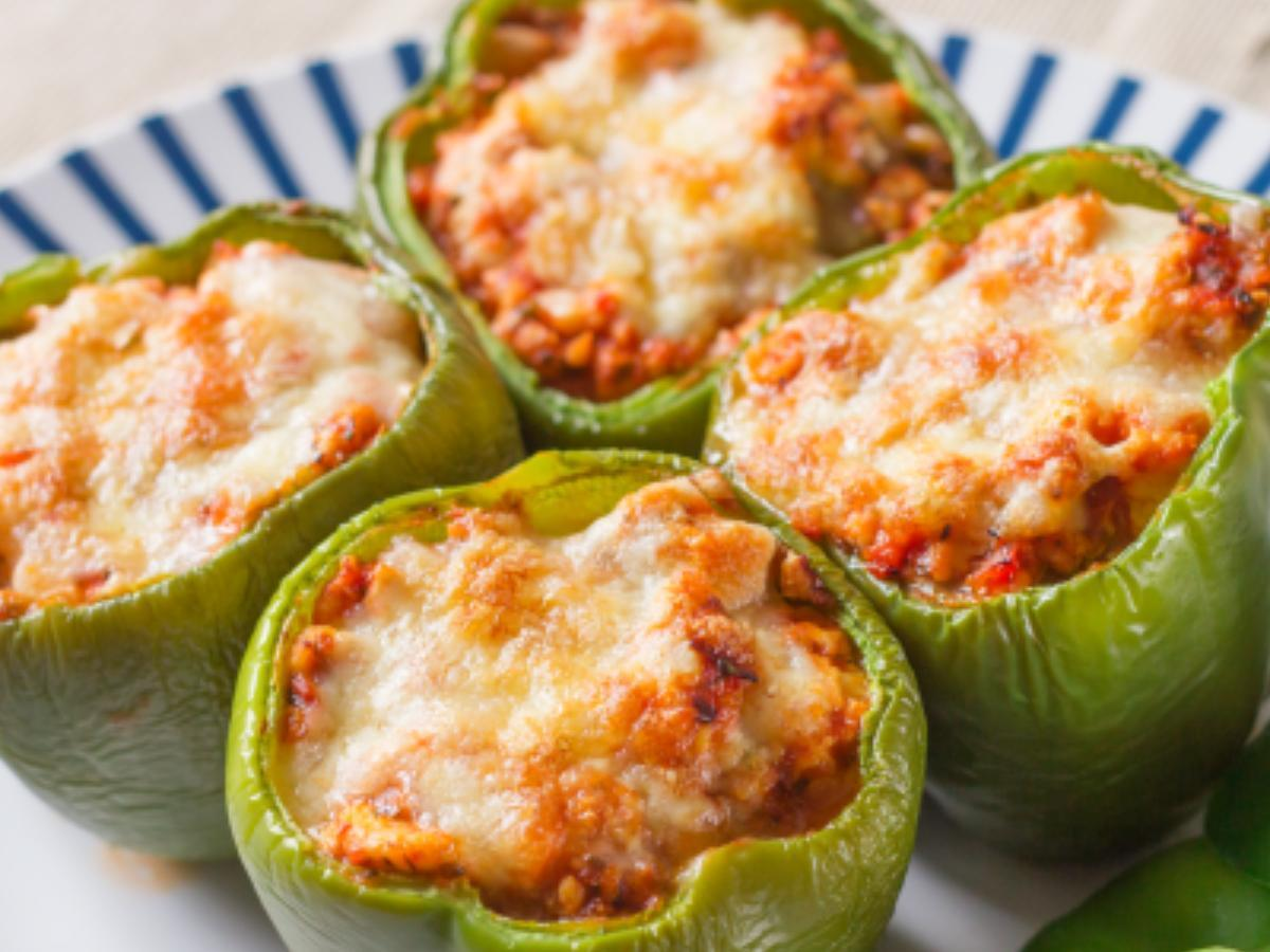 Low Carb Stuffed Pepper Healthy Recipe