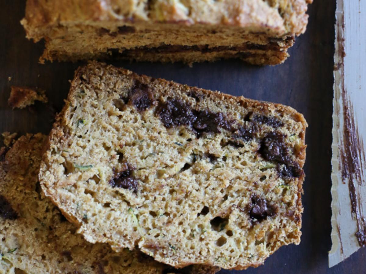 Low Fat Chocolate Chip Zucchini Bread Healthy Recipe