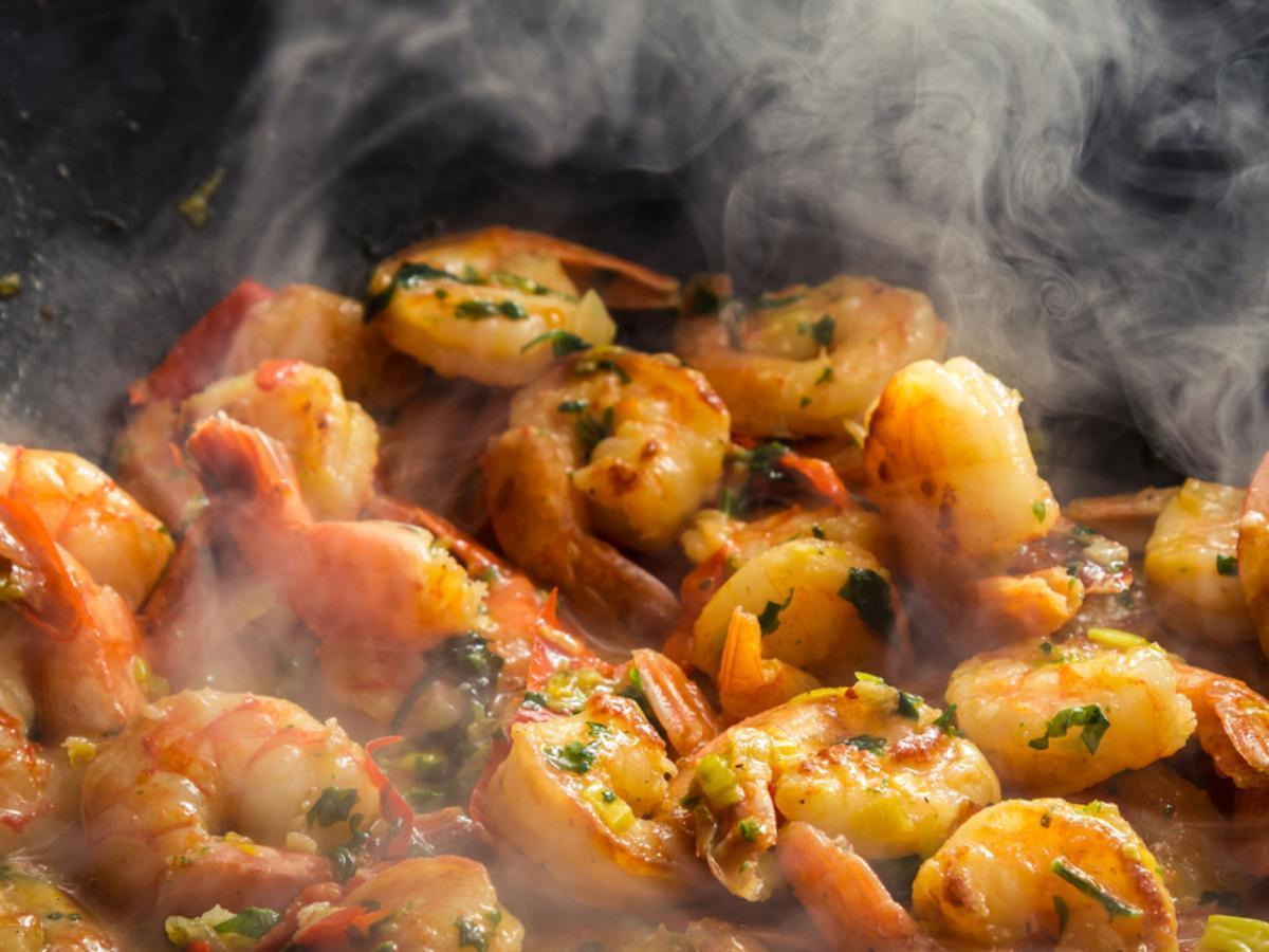 Lowcountry Breakfast Shrimp Healthy Recipe