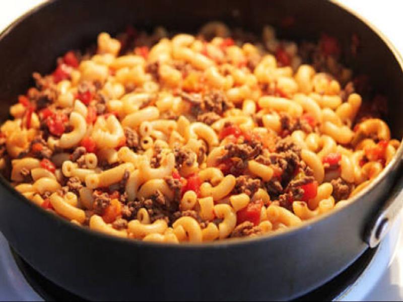 Macaroni Goulash Healthy Recipe